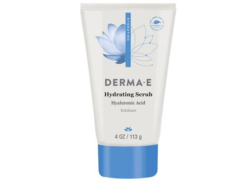 derma e Hydrating Scrub with Hyaluronic Acid