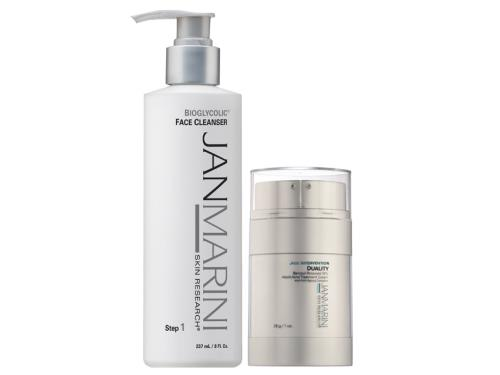 Jan Marini Bioglycolic Cleanser and Age Intervention Duality Duo