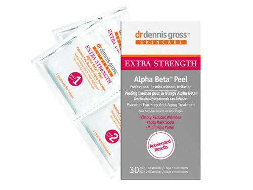 Dr. Dennis Gross Skincare Extra Strength Alpha Beta Peel (30 Packettes), with 30 Dr. Dennis Gross peels