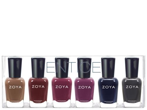 Zoya Entice Lacquer Sampler Collection