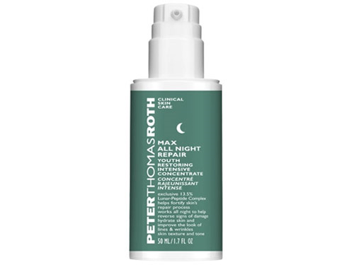 Peter Thomas Roth Max All Night Repair, a Peter Thomas Roth face lotion
