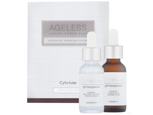 glo therapeutics Cyto-luxe Ageless Luxury Power Duo