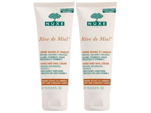 NUXE Rêve de Miel® Hand and Nail Cream Buy 1 Get 1 Duo