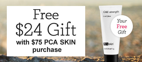 Free $24 Travel-Size PCA SKIN C&E Strength!