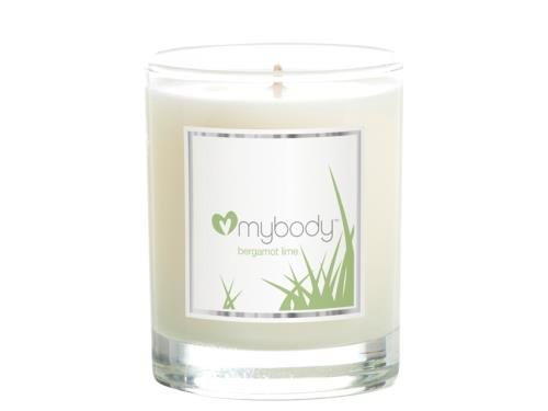 mybody SCENTED SPA CANDLE - Bergamot Lime