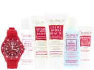 Guinot Refreshing Travel Kit with Free Guinot Watch