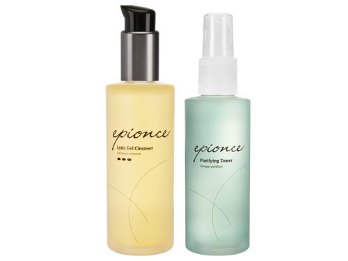 Epionce Lytic Cleanser & Purifying Toner Duo with an Epionce cleanser and toner