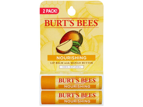 Burt's Bees Nourishing Lip Balm with Mango Butter 2 Pack