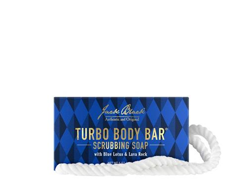 Jack Black Turbo Body Bar Soap-On-A-Rope