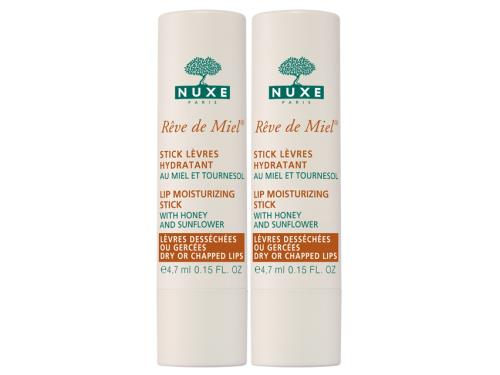 NUXE Rêve de Miel® Lip Moisturizing Stick Buy 1 Get 1 Duo