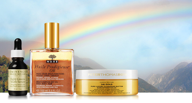 Find Your Pot of Gold (Skin Care) at LovelySkin!