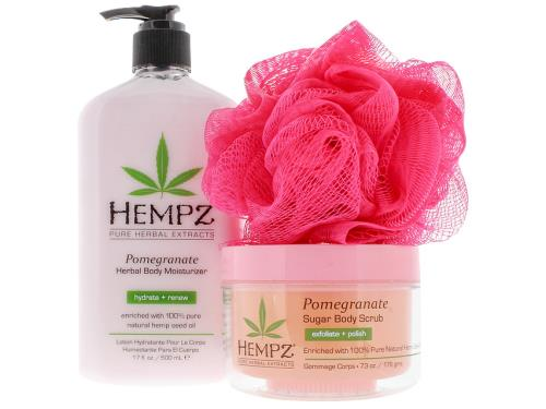 Hempz Bath Beauty Pomegranate Gift Set