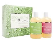 mybody SHOWER ME WITH mybody - Bergamot Lime + Rose Camomile