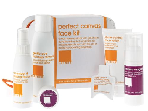 LATHER Perfect Canvas Face Kit