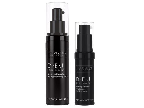 Revision Skincare D·E·J Face and Eye Duo with two Revision products