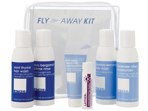 LATHER Fly Away Kit