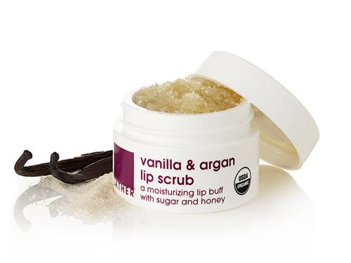 LATHER Vanilla & Argan Lip Scrub