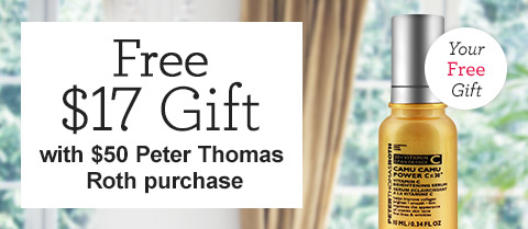 Free $17 Peter Thomas Roth Camu Camu Power C x 30 Serum!