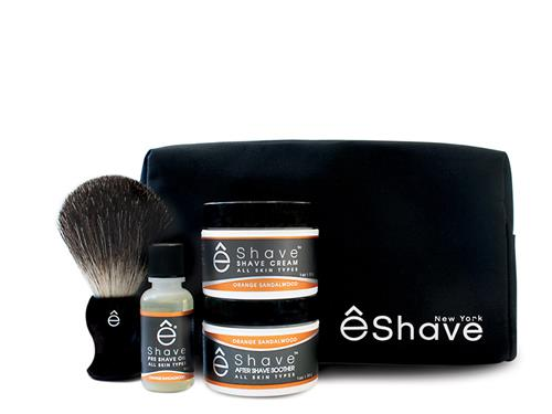 eShave Start Up Kit - Orange Sandalwood