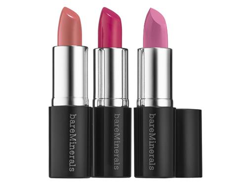 bareMinerals Polished Pinks Mini Moxie Limited Edition Lipstick Trio