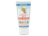 Badger Broad Spectrum Sport Sunscreen SPF 35 Unscented