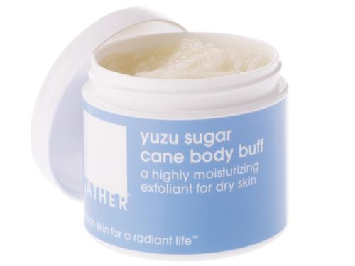 LATHER Yuzu Sugar Cane Body Buff