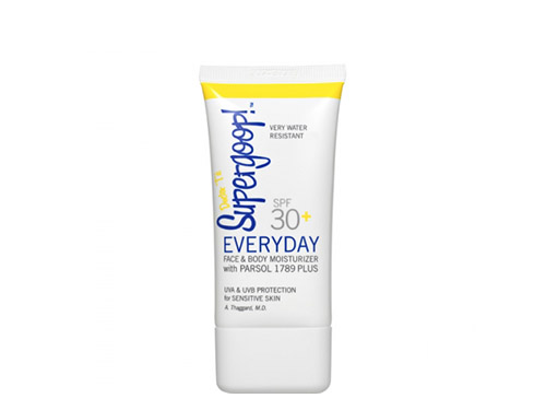 Supergoop! SPF 30+ Everyday UV Lotion for Face and Body 1.5 oz Tube