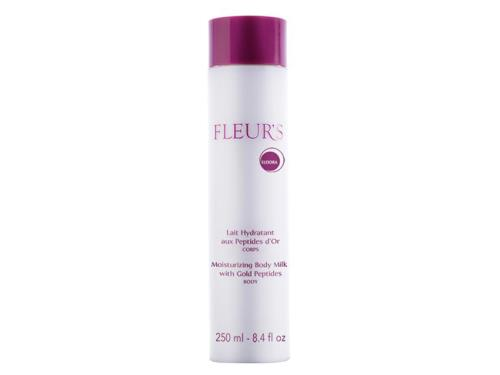 Fleurs Moisturizing Body Milk With Gold Peptides