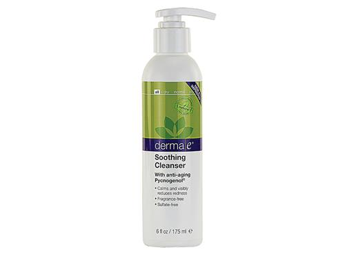 derma e Soothing Cleanser with Pycnogenol