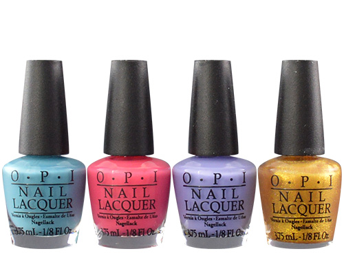 OPI Euro Centrale Euro Minis 4 Pack