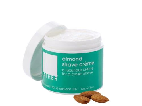 LATHER Almond Shave Crème - 4 oz