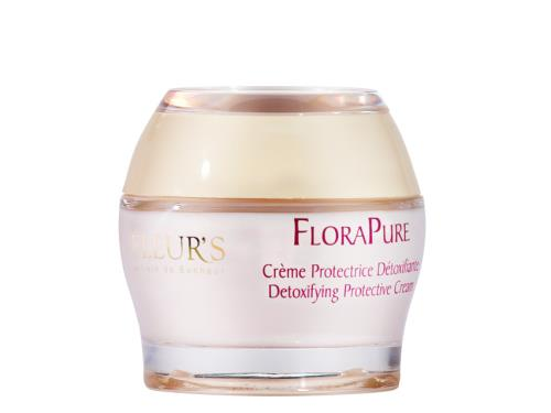 Fleurs Detoxifying Protective Cream - All Skin Types