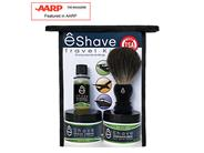 eShave Travel Shaving Kit TSA - White Tea