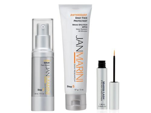 Jan Marini Rejuvenate and Protect Duo with Free Marini Lash - Antioxidant Daily Face Protectant SPF 33