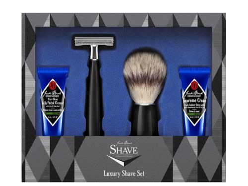 Jack Black Luxury Shave Set - 4 Piece