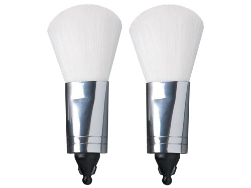 Klix Blush Brush Replacement Heads Set of 2