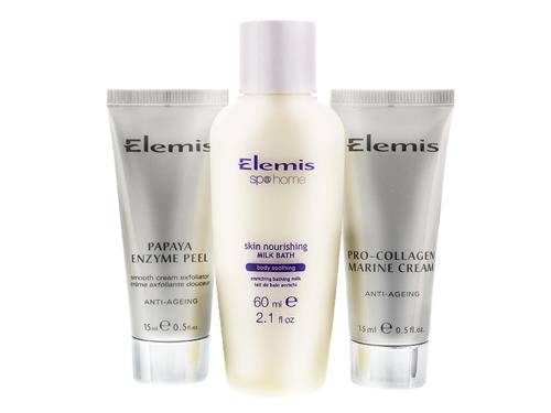 Free $68 Elemis Absolute Spa Travel Set