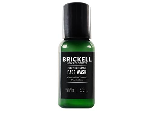 Brickell Purifying Charcoal Face Wash Travel Size