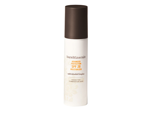 BareMinerals Advanced Protection SPF 20 Moisturizer Sheer Tint Combination Skin