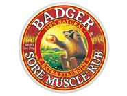 Badger CLEARANCE Extra Strength Sore Muscle Rub 2 oz - Expires 11/2013