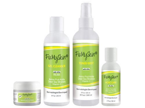 FixMySkin Acne Care Starter Set for Oily Skin
