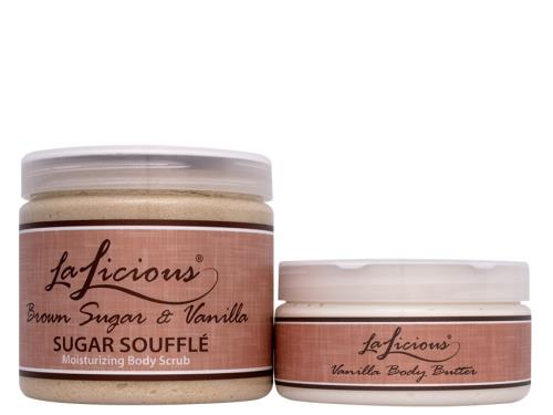 LaLicious Luxe Body Bundle - Brown Sugar and Vanilla