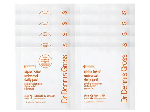 Dr. Dennis Gross Alpha Beta Daily Face Peel - 5 Pack, a Dr. Dennis Gross peel