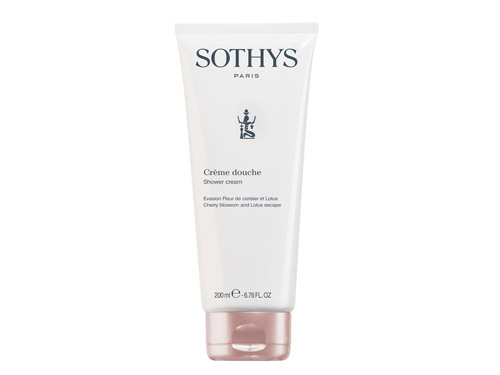 Sothys Cherry Blossom and Lotus Shower Cream