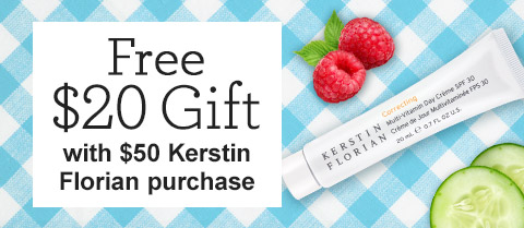 Free $20 Travel-Size Kerstin Florian Correcting Multi-Vitamin Day Creme SPF 30!