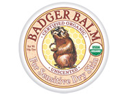 Badger Balm Unscented for Sensitive Dry Skin