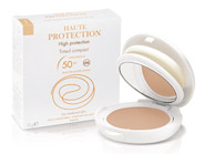 Avène High Protection Tinted Compact SPF 50, an Avene tinted compact makeup