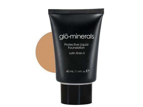 glo minerals Protective Oil Free Liquid Foundation - Satin II - Natural: buy this glo minerals foundation.