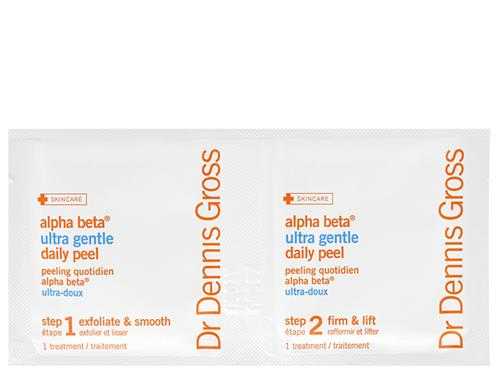 Free $9 Dr. Dennis Gross Skincare Alpha Beta Ultra Gentle Daily Peel