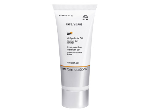 MD Formulations Sun Total Protector SPF 30 Face